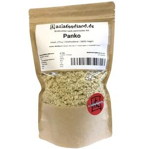 Asiafoodland Premium Panko Paniermehl Panierbrot Brotkrumen nach japanischer Art, ohne Palmöl, ohne Zusatzstoffe, vegan 275g