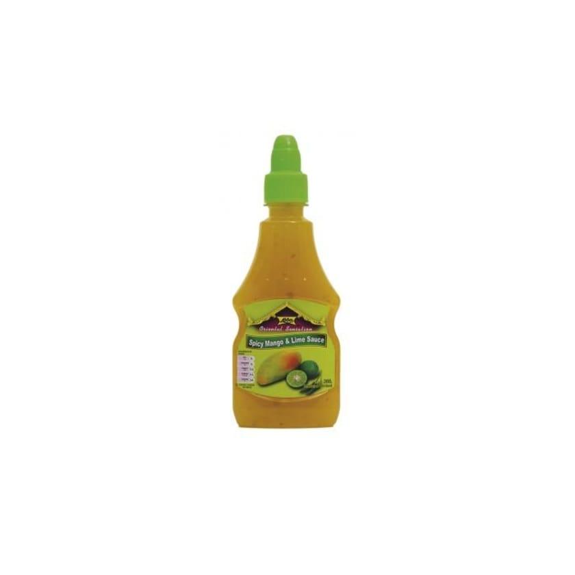 Lobo Spicy Mango & Lime Sauce würzige Mango-Limettensauce PET