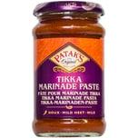 Patak's Tikka Marinade Paste Curry Paste mit Tamarind und Paprika mild 300g