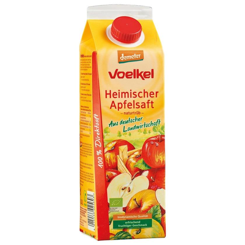 Voelkel Bio Heimischer Apfelsaft naturtrüb 1l