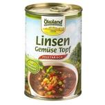 Ökoland Bio Linsen-Gemüse-Topf 400g