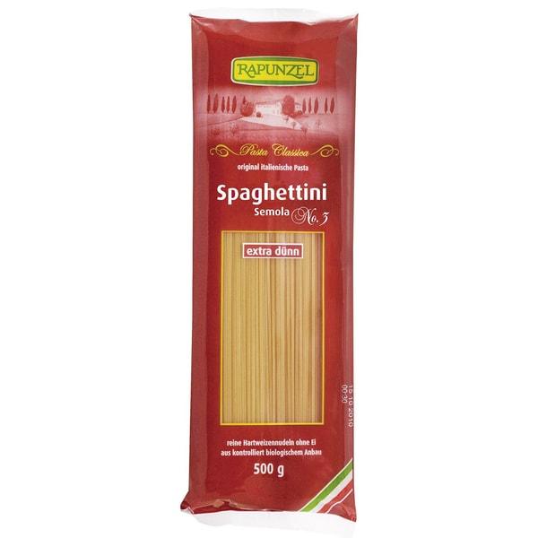 Rapunzel Bio Spaghettini Semola No.3 500g