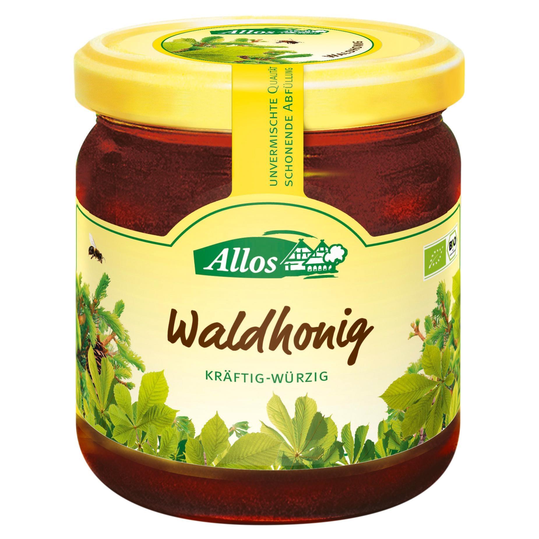 Allos Bio Waldhonig 500g