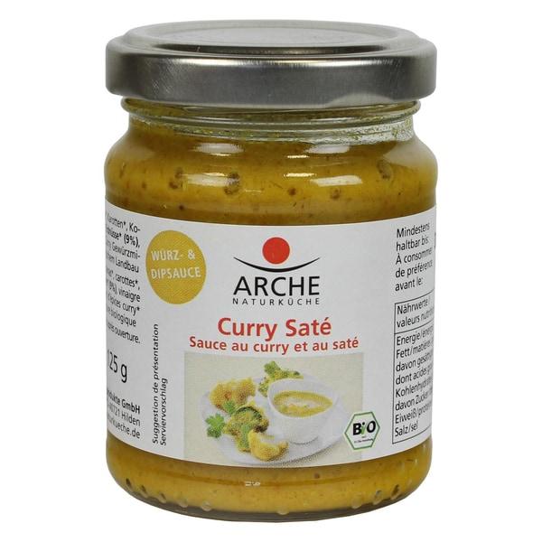 Arche Bio Curry Saté Würz- und Dipsauce 125g