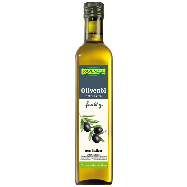 Rapunzel Bio Olivenöl fruchtig nativ extra 0,5l