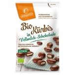 Landgarten Bio Kürbis in Vollmilch-Schokolade 50g