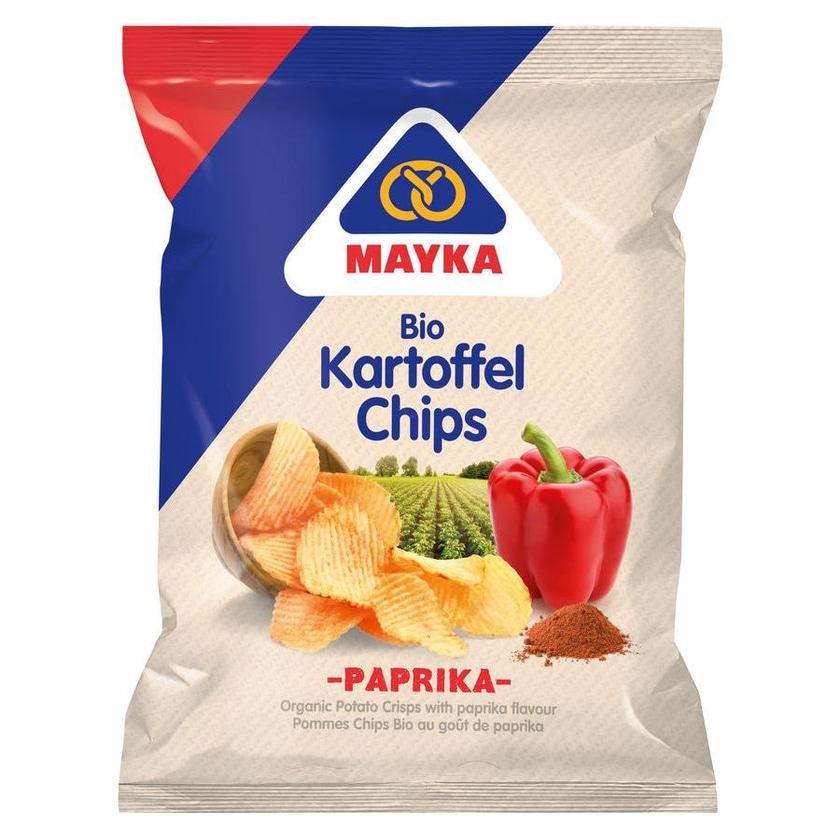 Mayka Bio Kartoffelchips Paprika 70g