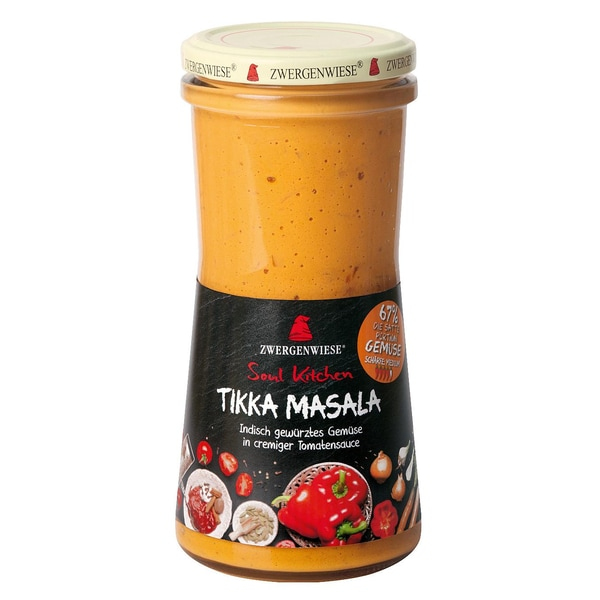 Zwergenwiese Bio Soul Kitchen Tikka Masala 420ml