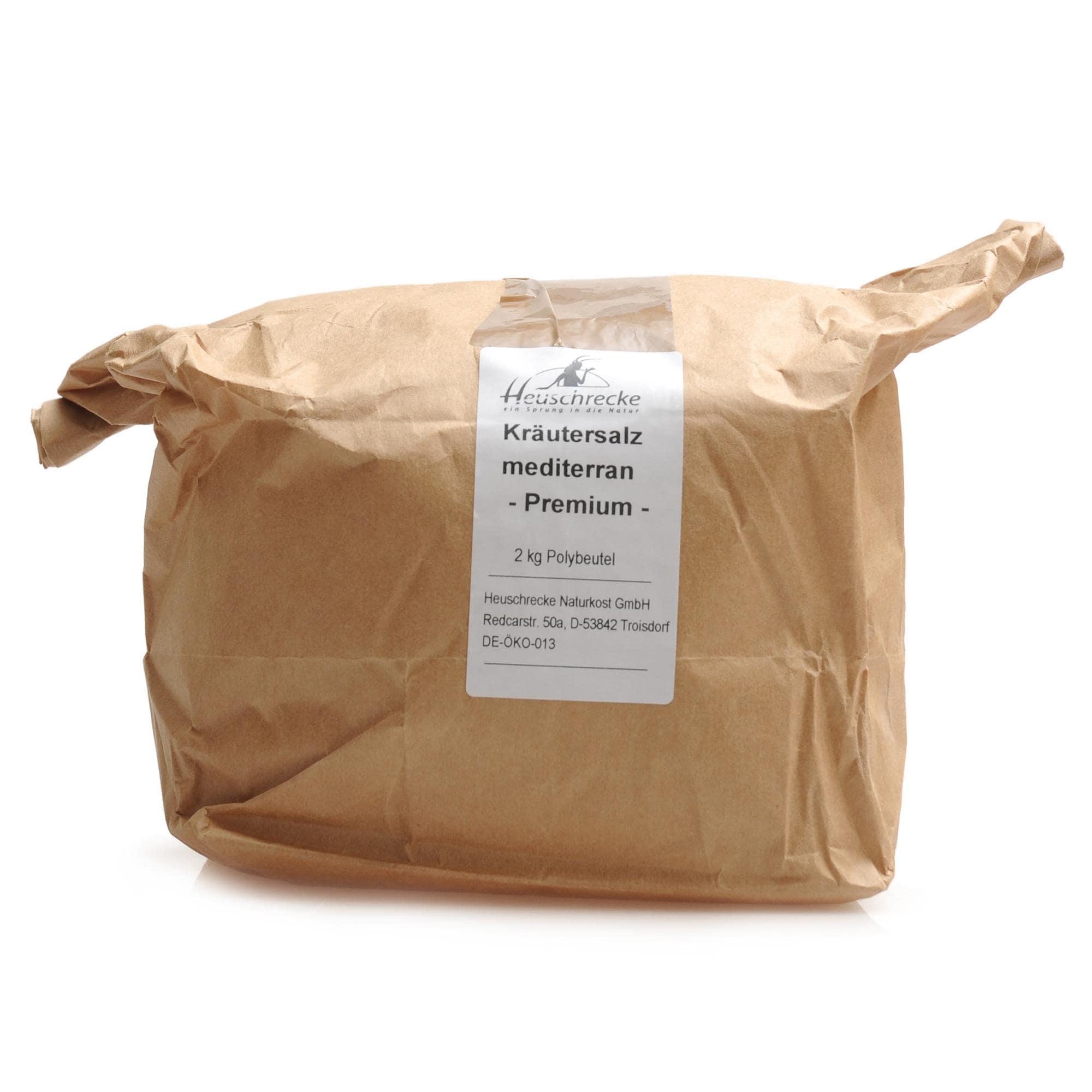 Heuschrecke Bio Kräutersalz mediterran 2 kg