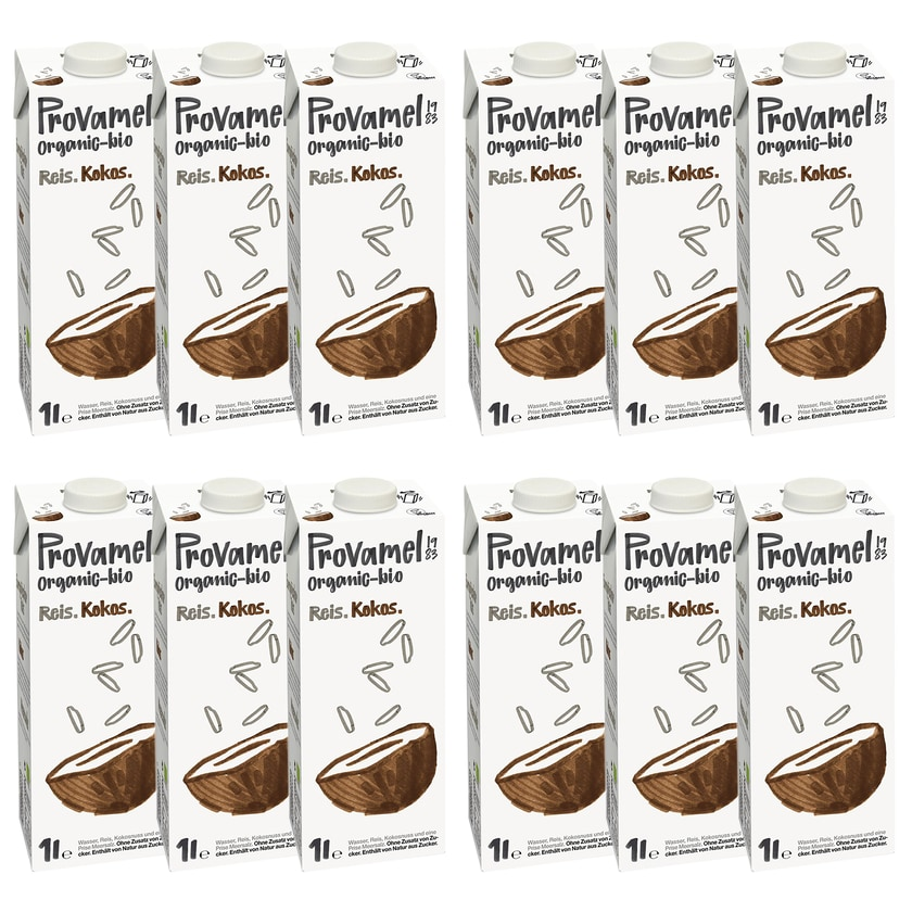 Provamel Bio Reis-Kokosdrink 12x1l
