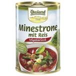Ökoland Bio Minestrone mit Reis vegetarisch 400g