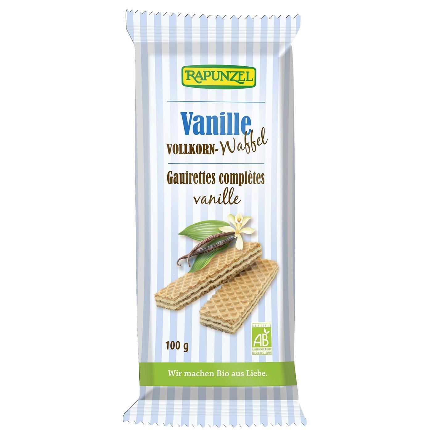 Rapunzel Bio Vollkornwaffel Vanille 100 g