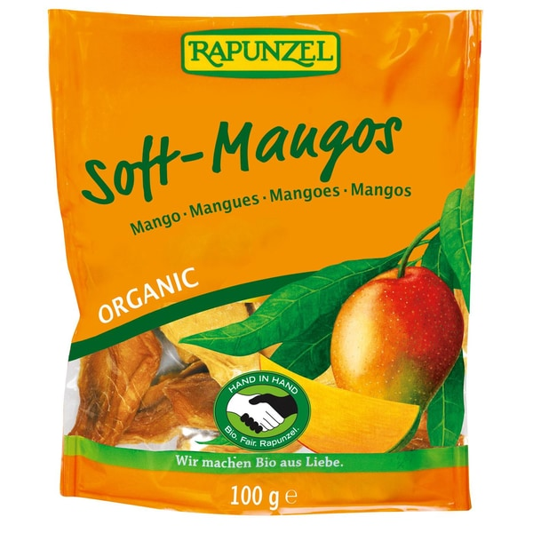 Rapunzel Bio Soft-Mangos 100g