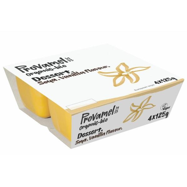 Provamel Bio Sojadessert Vanille 4x125g