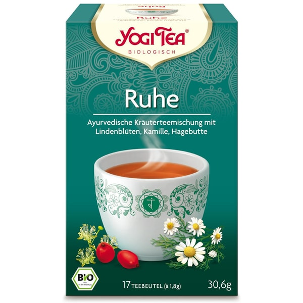 Yogi Tea Bio Ruhe Teemischung 30,6g