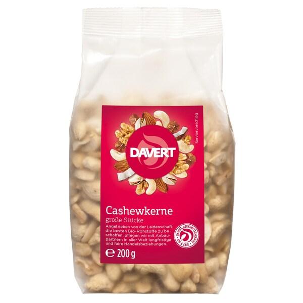 Davert Bio Cashewkerne große Stücke 200g