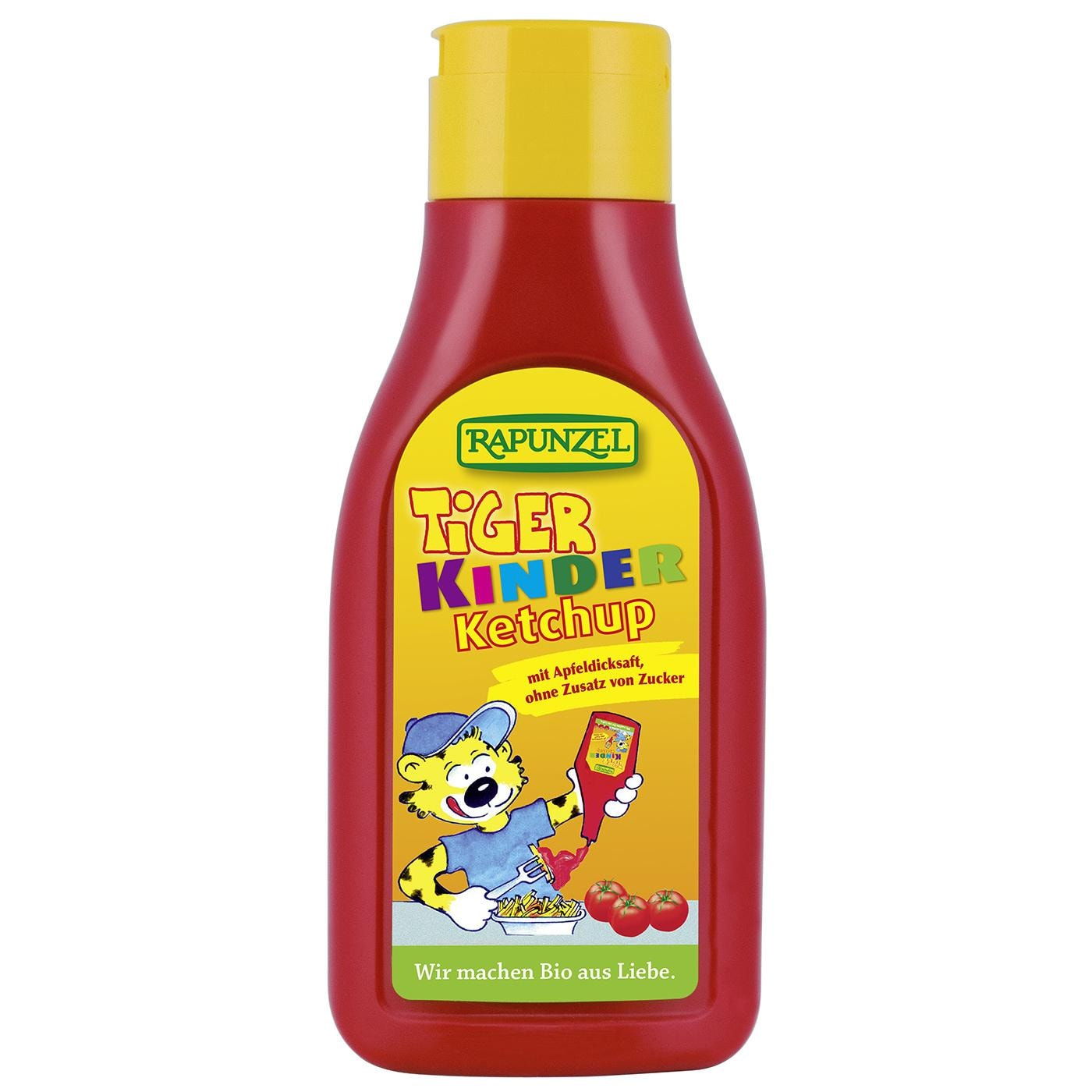 Rapunzel Bio Ketchup Tiger in Squeezeflasche 500ml