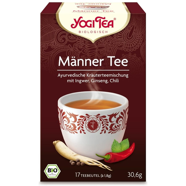 Yogi Tea Bio Männer Tee 30,6g