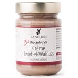 Sanchon Bio Brotaufstrich Crème Zwiebel-Walnuss 190g