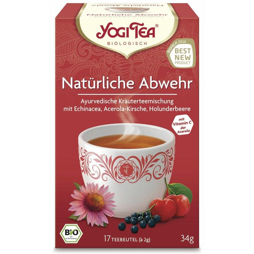 Yogi Tea Bio Natürliche Abwehr Teemischung 34g