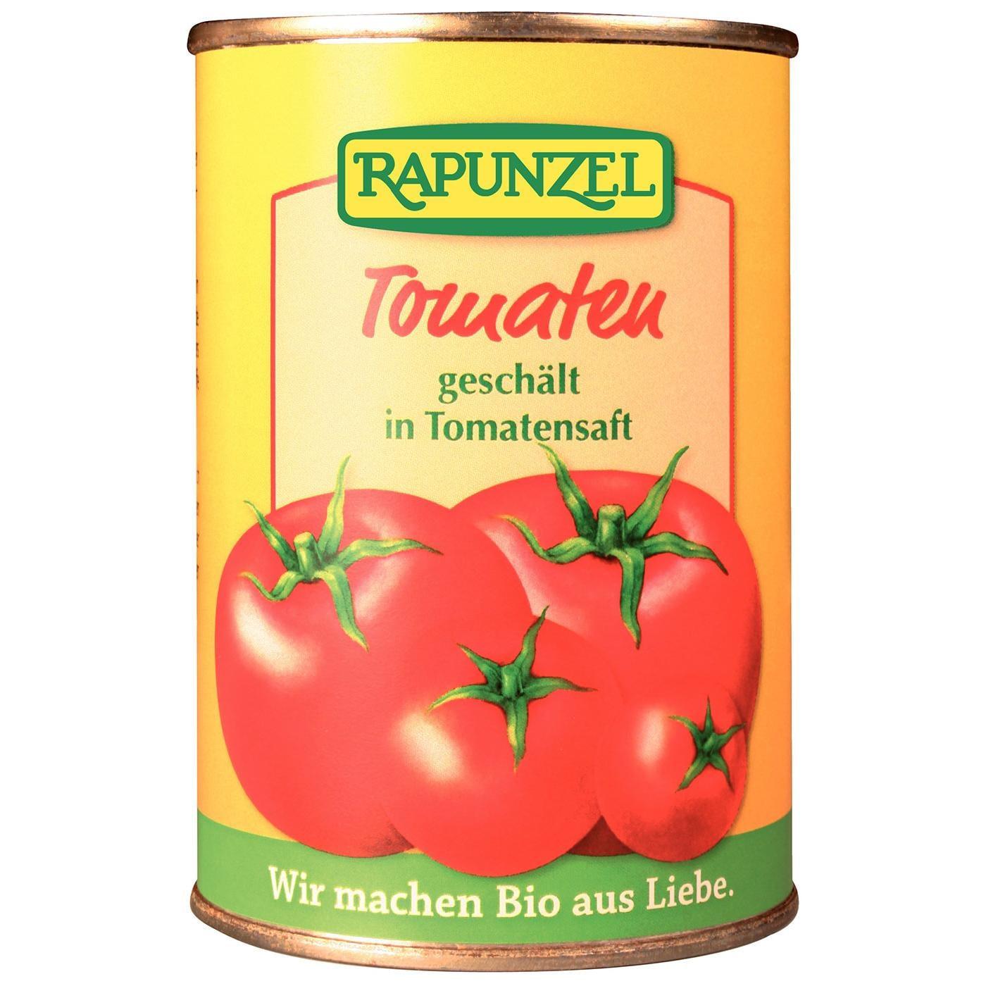 Rapunzel Bio Tomaten geschält in Tomatensaft 400g