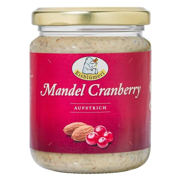 Eisblümerl Bio Mandel-Cranberry-Aufstrich 250g