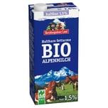 Berchtesgadener Land Haltbare Bio-Alpenmilch 1,5% 1l