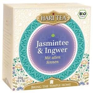 Hari Tea Bio Jasmintee & Ingwer Teemischung 20g