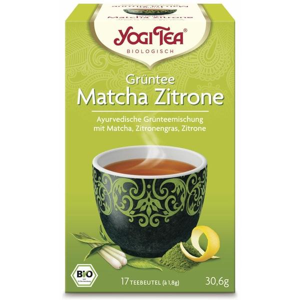Yogi Tea Bio Grüntee Matcha Zitrone Teemischung 30,6g