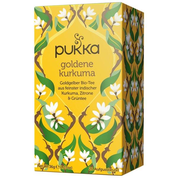 Pukka Herbs Bio Goldene Kurkuma Teemischung 36g