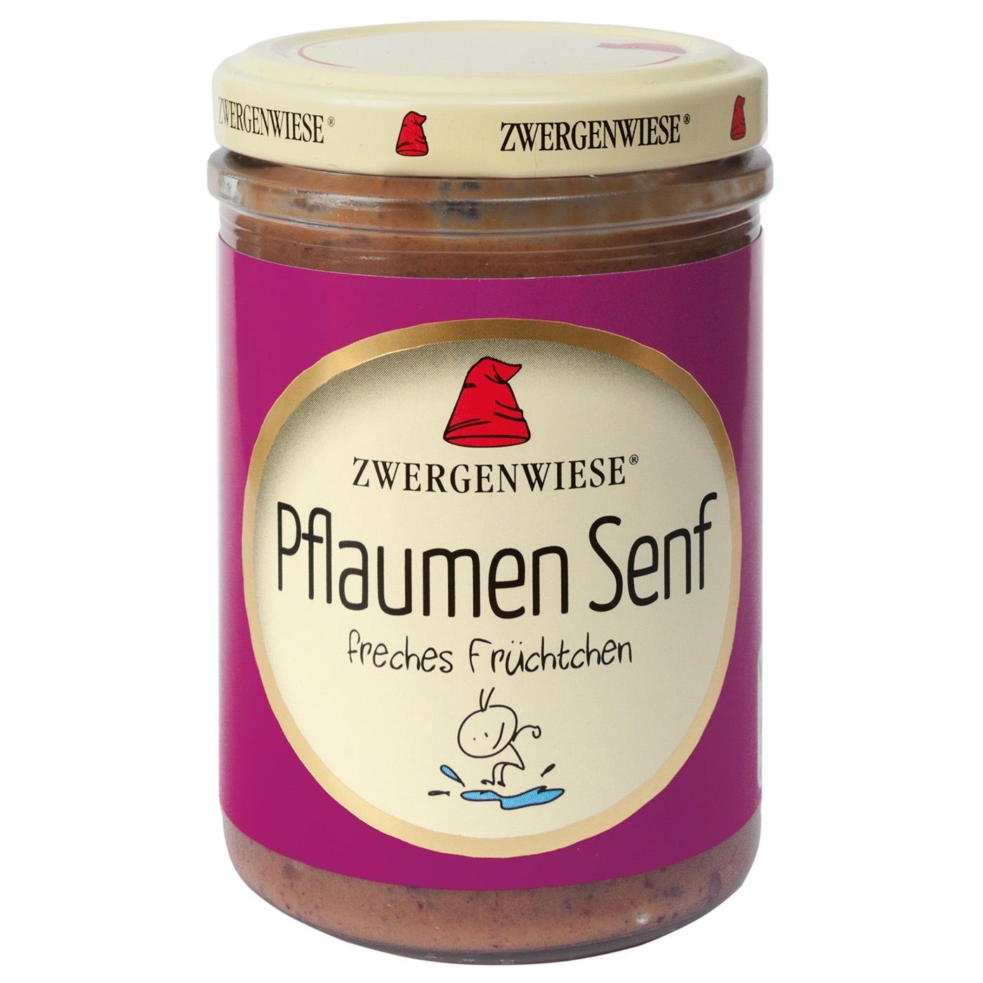 Zwergenwiese Bio Pflaumen Senf 160ml