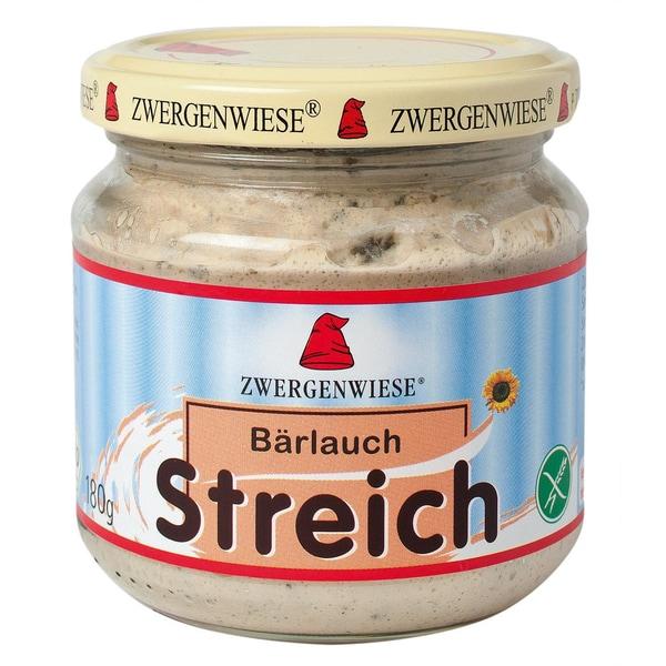 Zwergenwiese Bärlauch Streich, Aufstrich, Bio, 180 g