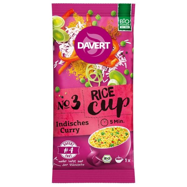 Davert Bio Rice-Cup Indisches Curry 67g