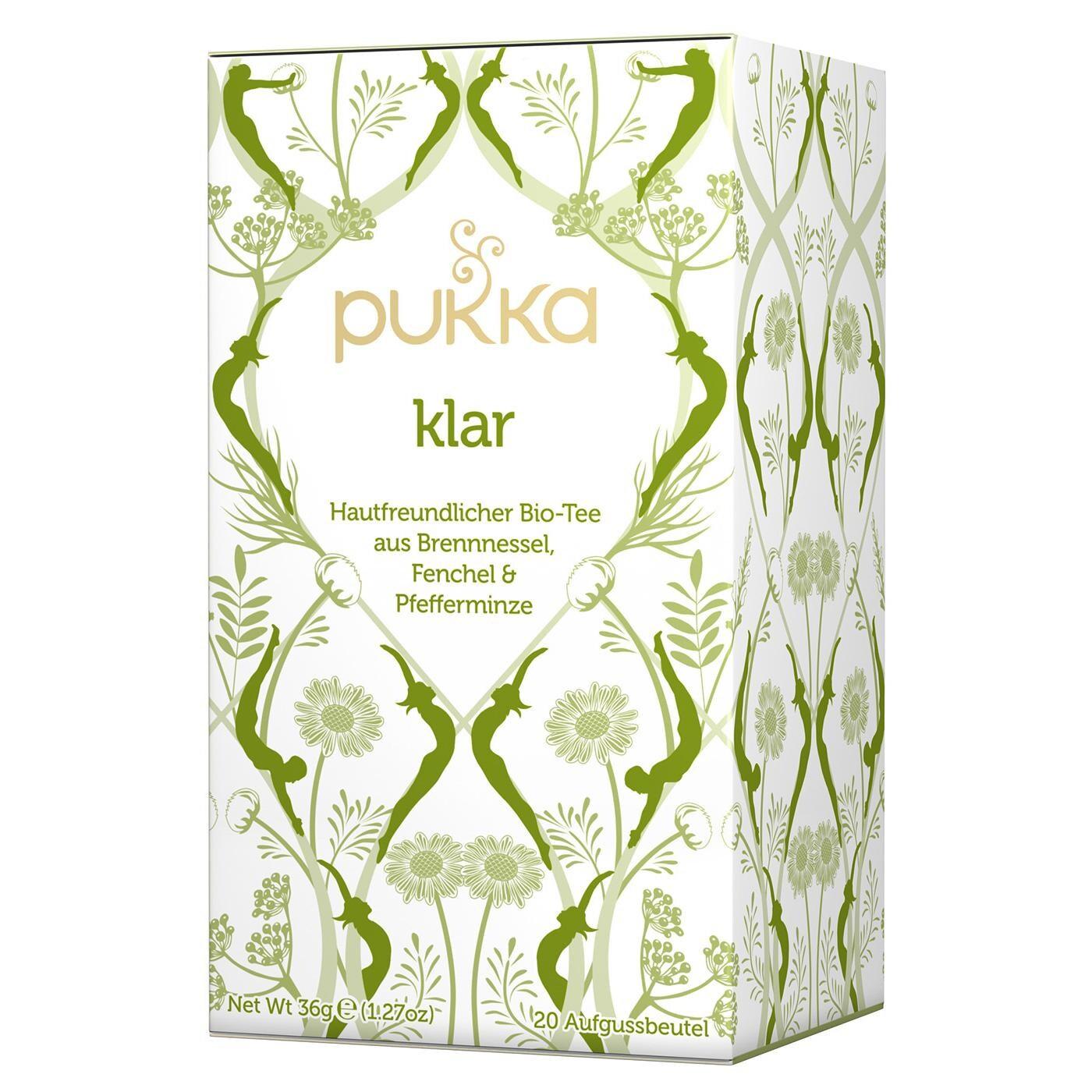 Pukka Herbs Bio Klar Teemischung 40g