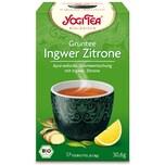 Yogi Tea Bio Grüntee Ingwer-Zitrone 30,6g