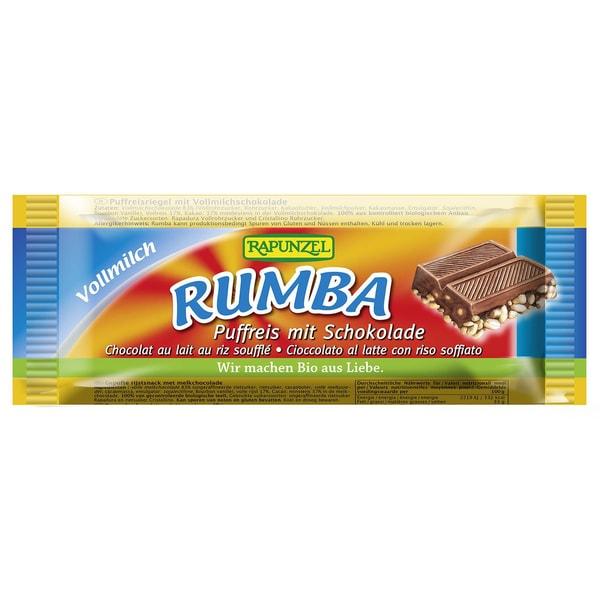 Rapunzel Bio Rumba Puffreisriegel Vollmilch 50g