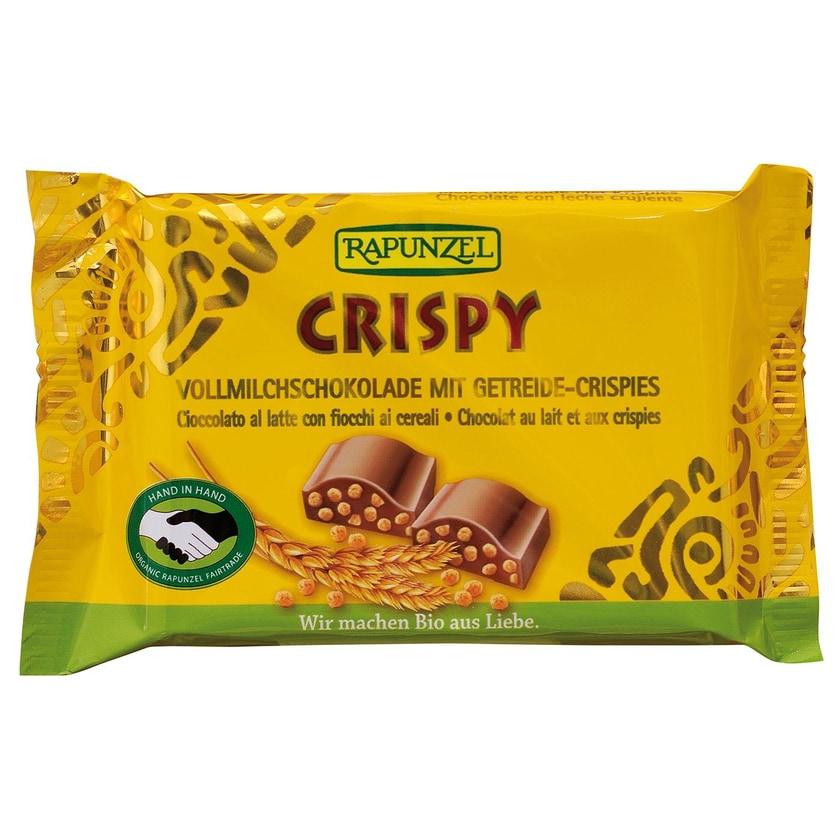 Rapunzel Bio Vollmilchschokolade Crispy 100g