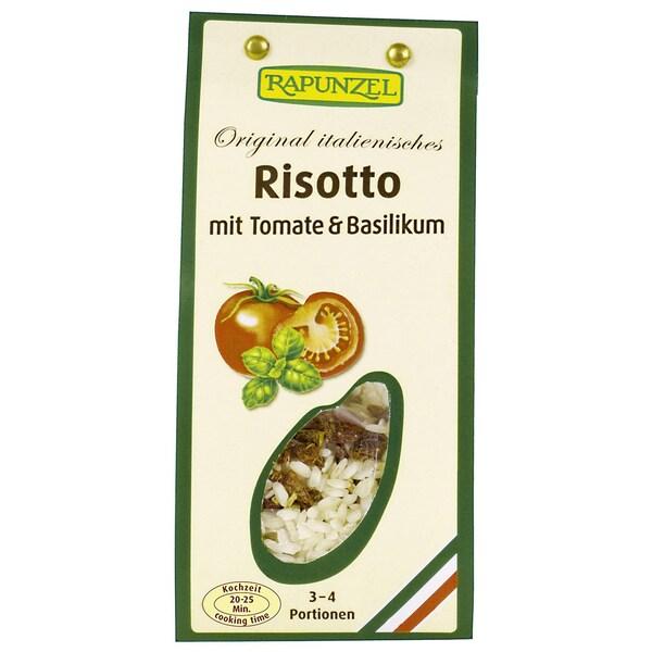 Rapunzel Bio Risotto mit Tomate & Basilikum 250g