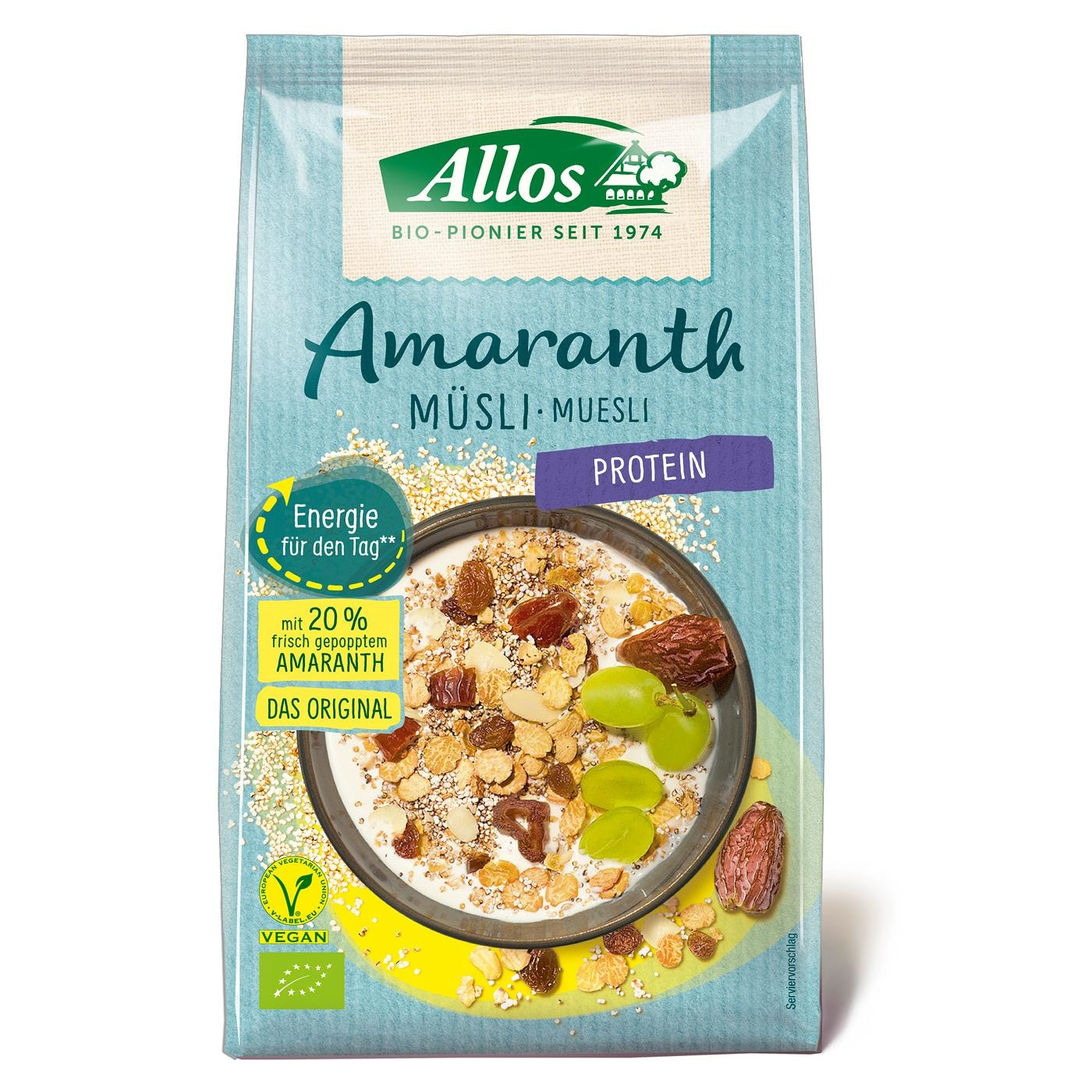Allos Bio Amaranth Protein Müsli 375g
