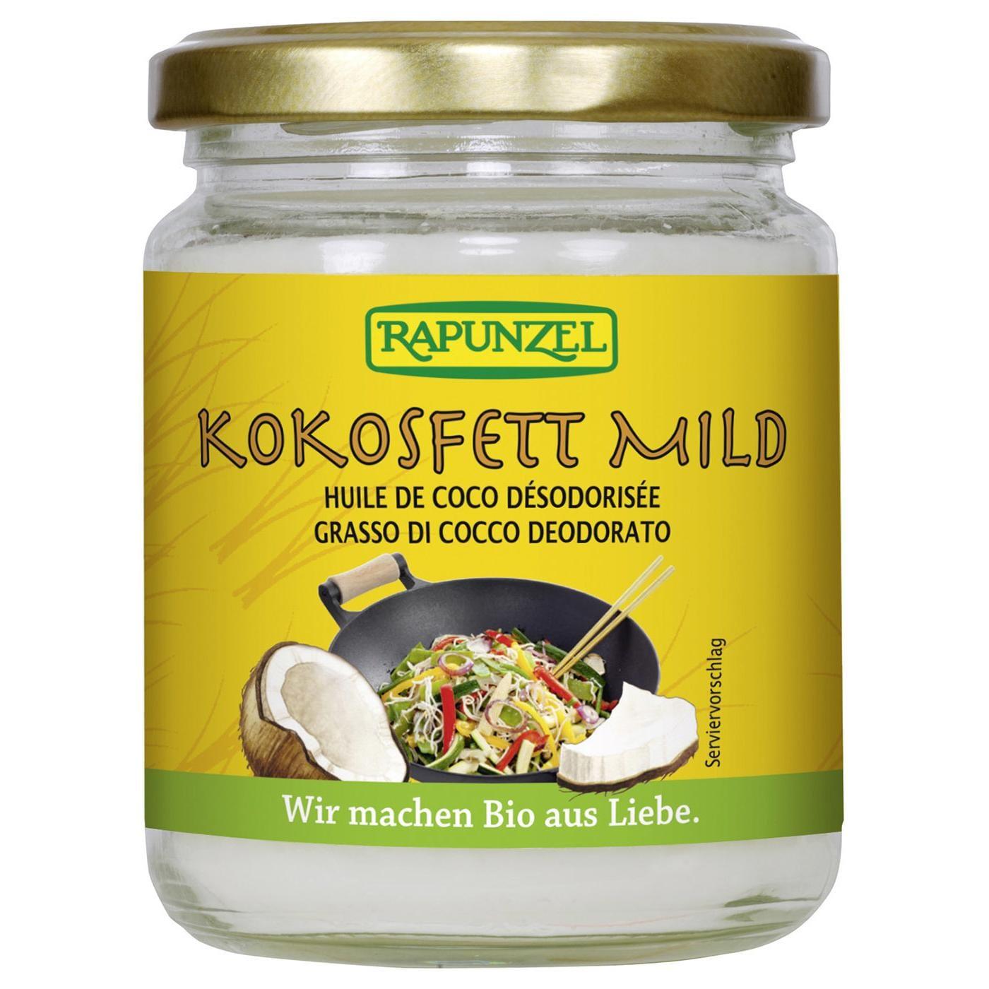 Rapunzel Bio Kokosfett mild 200g