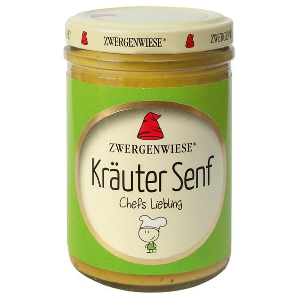 Zwergenwiese Bio Kräuter Senf 160ml