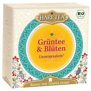 Hari Tea Bio Grüntee & Blüten Teemischung 20g