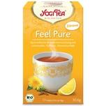 Yogi Tea Bio Feel Pure mit Zitrone Teemischung 30,6g