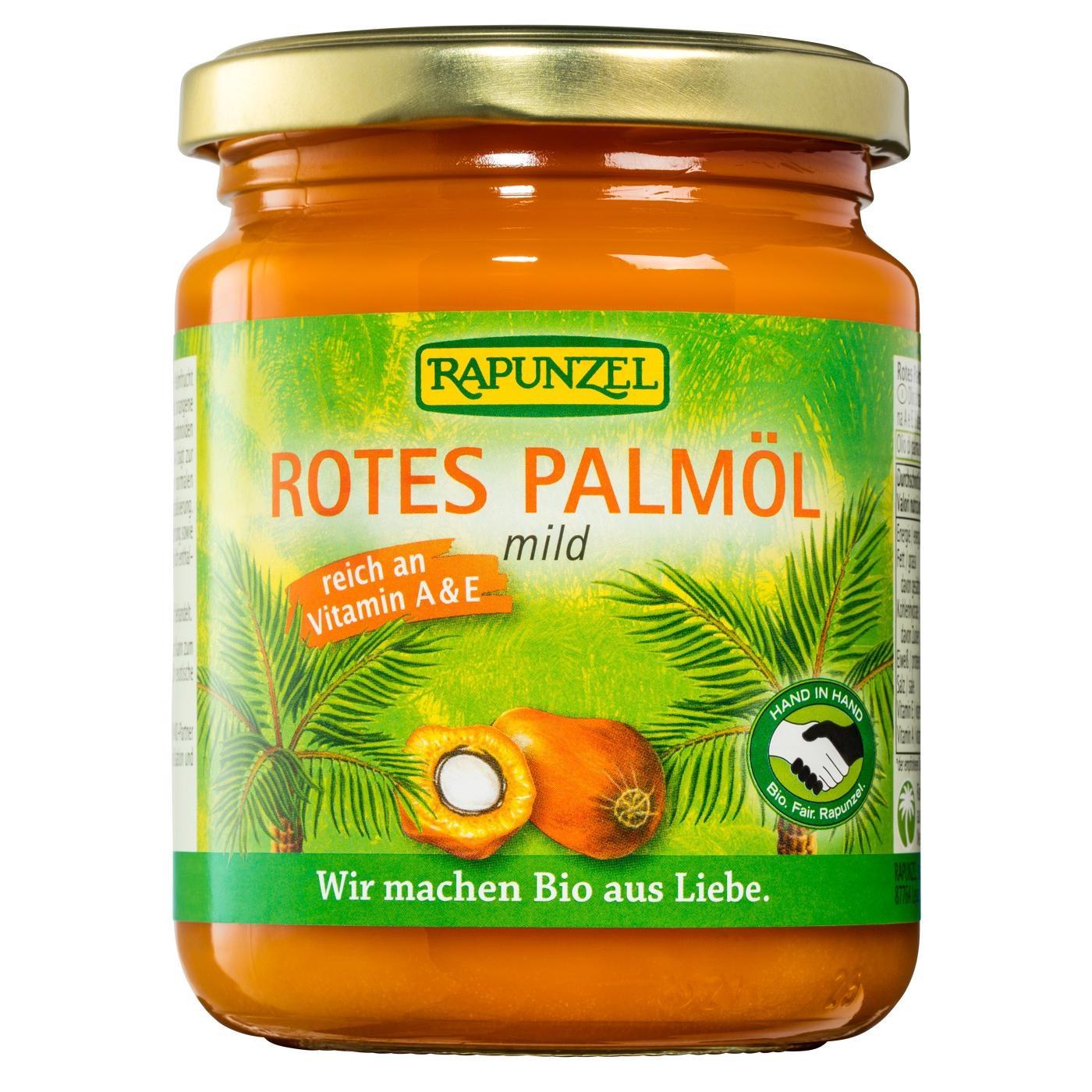 Rapunzel Bio rotes Palmöl mild 200g