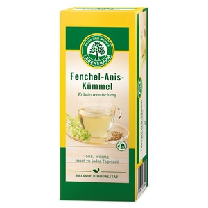 Lebensbaum Bio Fenchel Anis Kümmeltee 50g