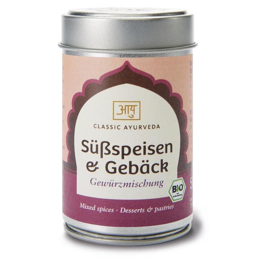 Classic Ayurveda Bio Süßspeisen & Gebäck Gewürzmischung 50 g