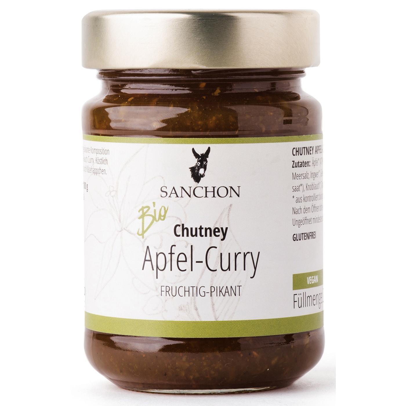Sanchon Bio Chutney Apfel-Curry 200 g