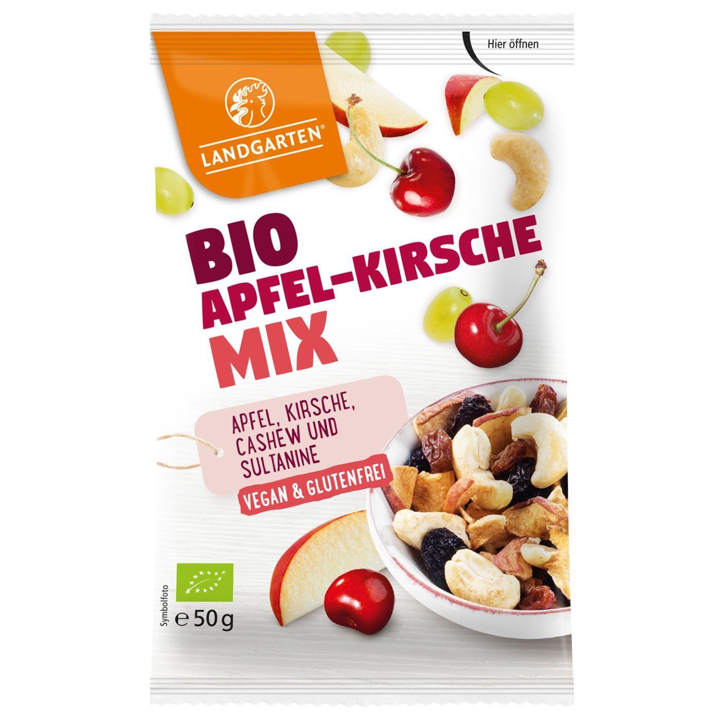Landgarten Bio Apfel-Kirsche Mix 50g
