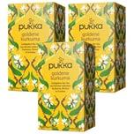 Pukka Herbs Bio Goldene Kurkuma Teemischung 3x36g