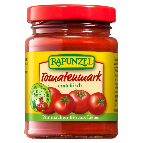Rapunzel Bio Tomatenmark 22% Tr.M. 100g